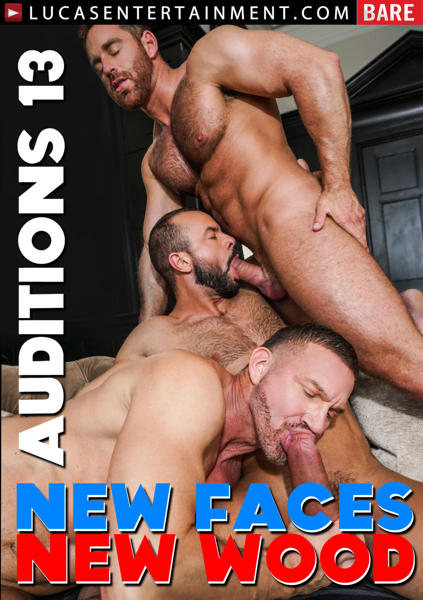 Bareback Auditions 13 New Faces New Wood Cover Front