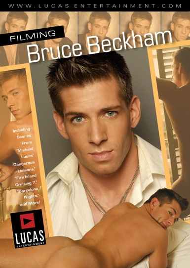 Filming Bruce Beckham - Front Cover