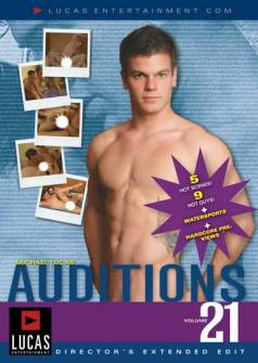Auditions 21 - Front Cover