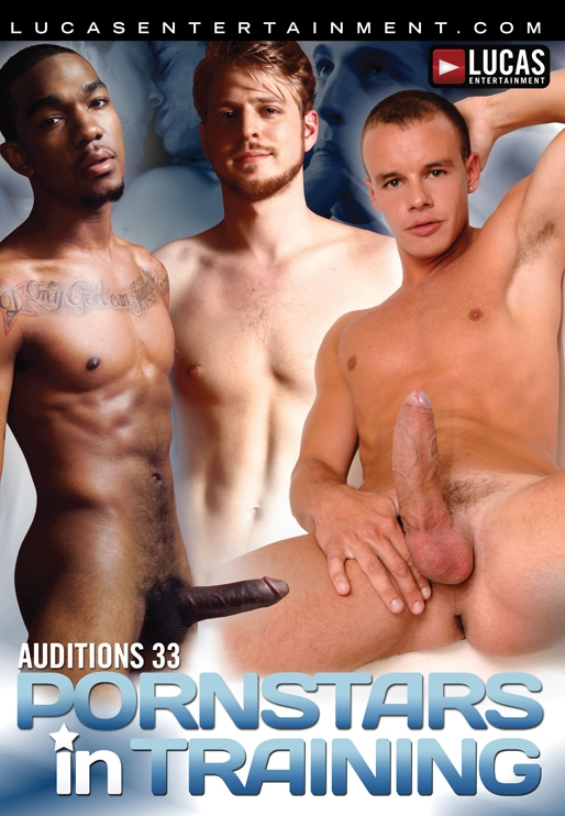 Auditions 33: Pornstars in Training - Front Cover