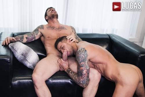 Rocco Steele Breeds Dolf Dietrich - Gay Movies - Lucas Entertainment