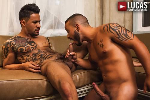 Latin Men Rafael Lords And Xavier Hux Flip Fuck - Gay Movies - Lucas Entertainment
