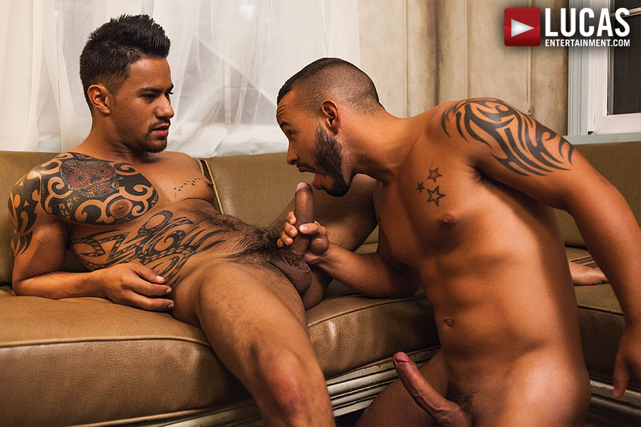 Latin Men Rafael Lords And Xavier Hux Flip Fuck - Gay Movies - Lucas Entertainment