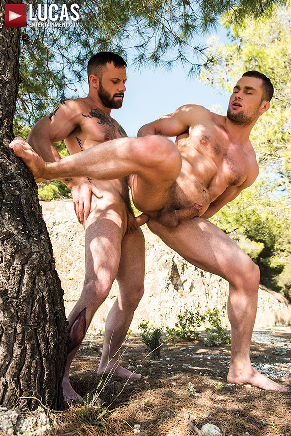 Sergeant Miles Flip-Fucks With Stas Landon - Gay Movies - Lucas Entertainment