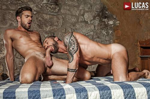 Zander Craze Bangs Tyler Berg In The Ass Raw - Gay Movies - Lucas Entertainment