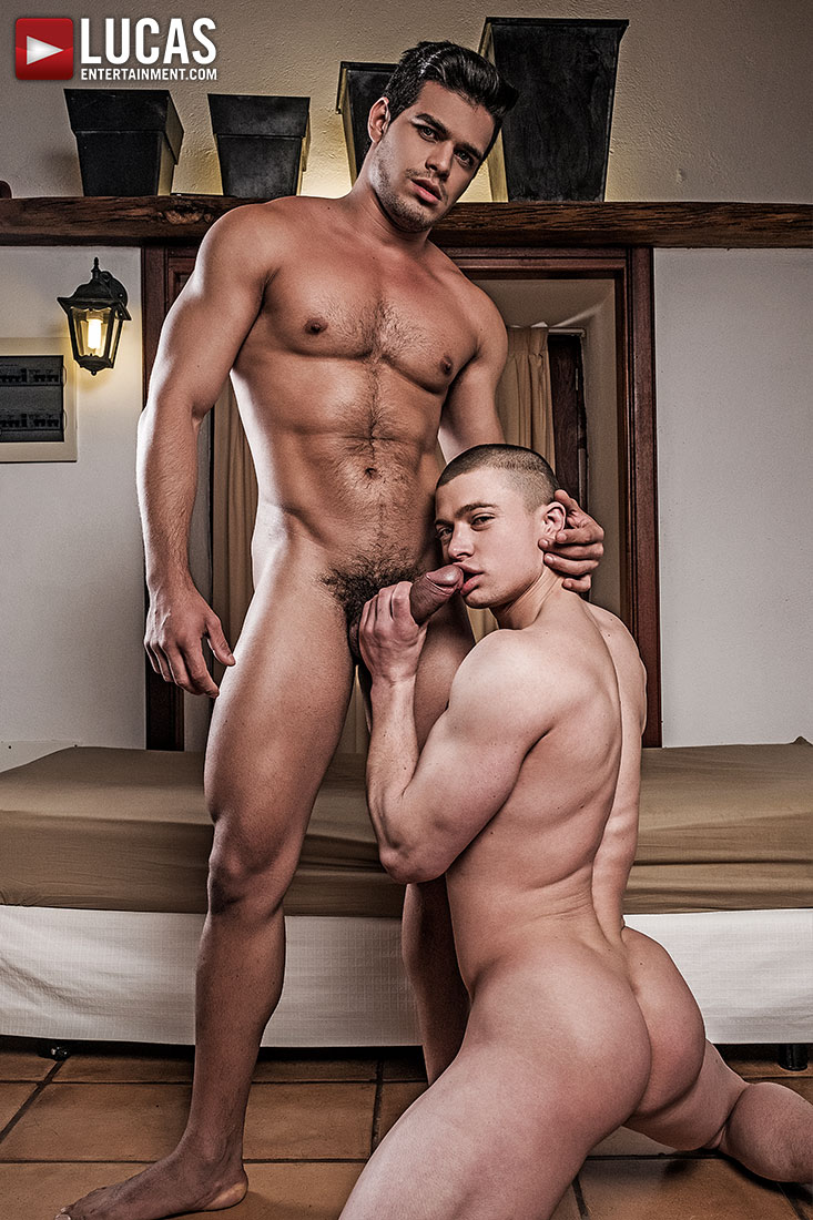 Ruslan Angelo Makes His Bareback Debut with Rico Marlon - Gay Movies - Lucas Entertainment