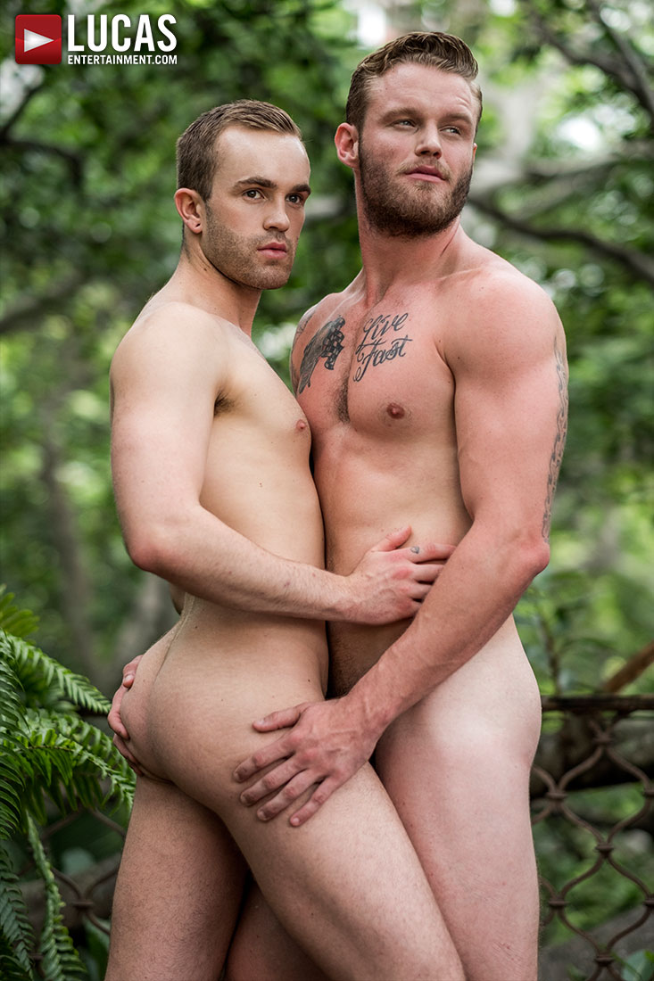 Shawn Reeve Tops Jackson Radiz Bareback - Gay Movies - Lucas Entertainment