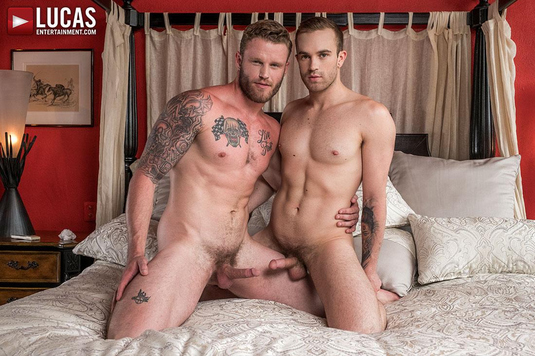 Shawn Reeve Tops Jackson Radiz Bareback - Gay Movies - Lucas Entertainment