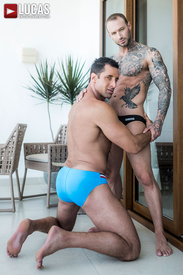 Dylan James Fucks Muscle Daddy Nick Capra - Gay Movies - Lucas Entertainment