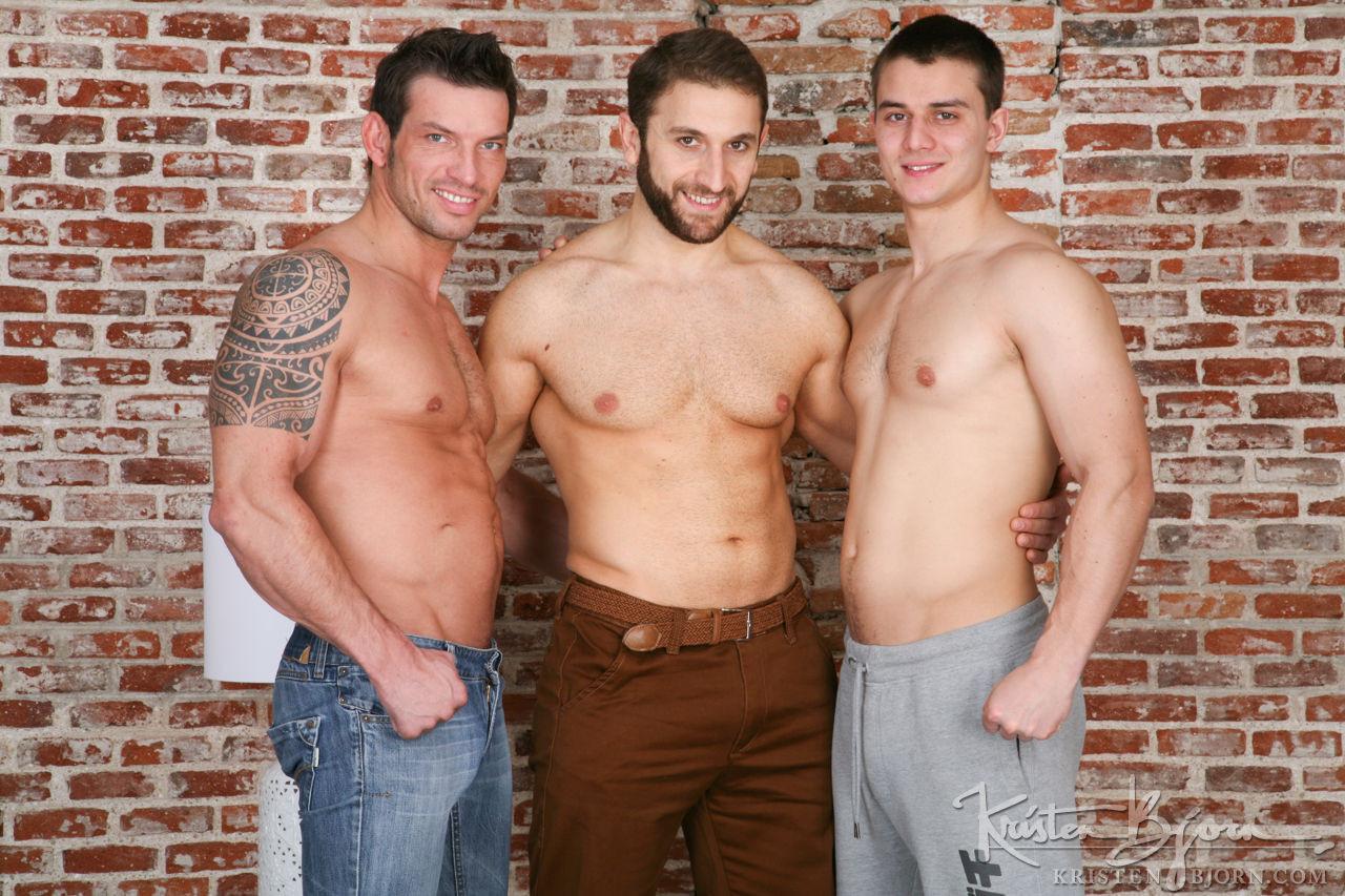 Jan Faust, Jalil Jafar, Rado Zuska | Raw Threesome - Gay Movies - Lucas Entertainment