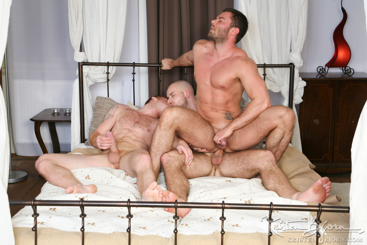 Tom Vojak, Marek Borek, Patryk Jankowski | Europeans Gone Bareback - Gay Movies - Lucas Entertainment