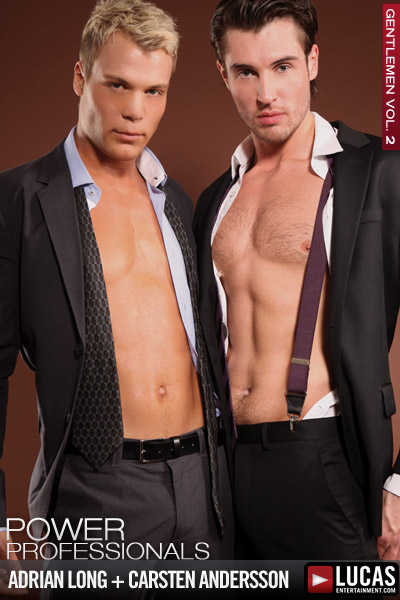 Businessman Adrian Long Ravages Carsten Andersson - Gay Movies - Lucas Entertainment