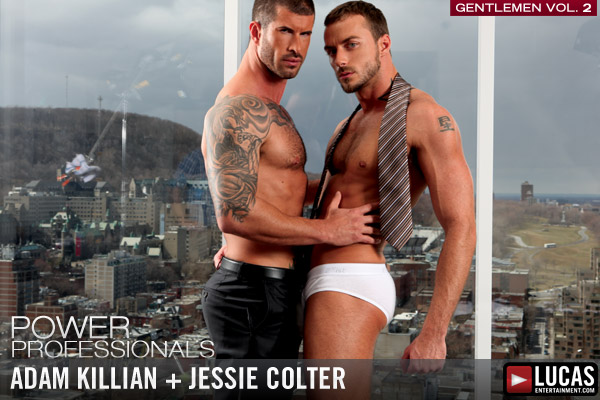 Tailored Stud Adam Killian Pumps Jessie Colter - Gay Movies - Lucas Entertainment