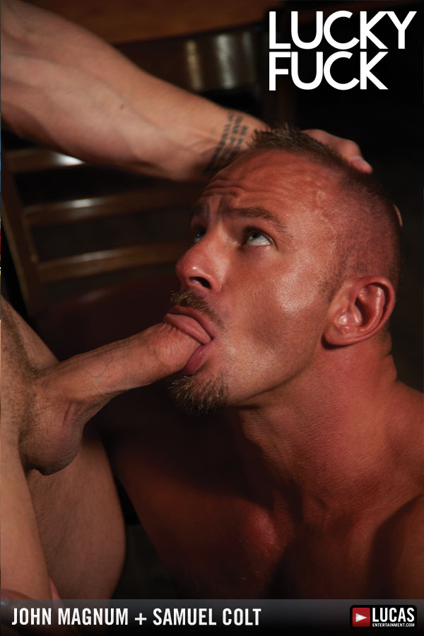 Hairy Hunks John Magnum and Samuel Colt Flip-Fuck - Gay Movies - Lucas Entertainment