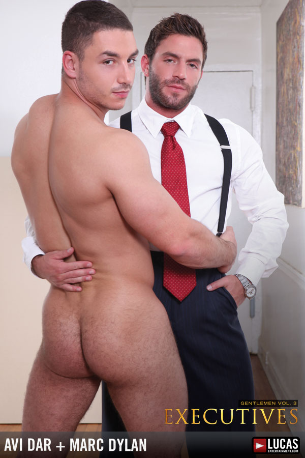 Muscled Businessmen Avi Dar and Marc Dylan Suck and Fuck - Gay Movies - Lucas Entertainment