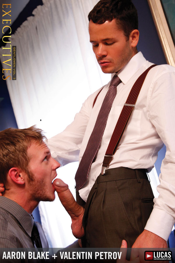 Valentin Petrov Fucks Twink Executive Aaron Blake - Gay Movies - Lucas Entertainment