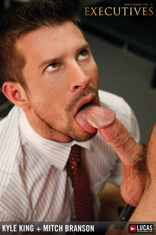 Boardroom Studs Mitch Branson and Kyle King Flip-Fuck - Gay Movies - Lucas Entertainment