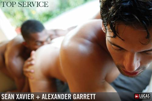 Alexander Garrett and Sean Xavier Fuck - Gay Movies - Lucas Entertainment