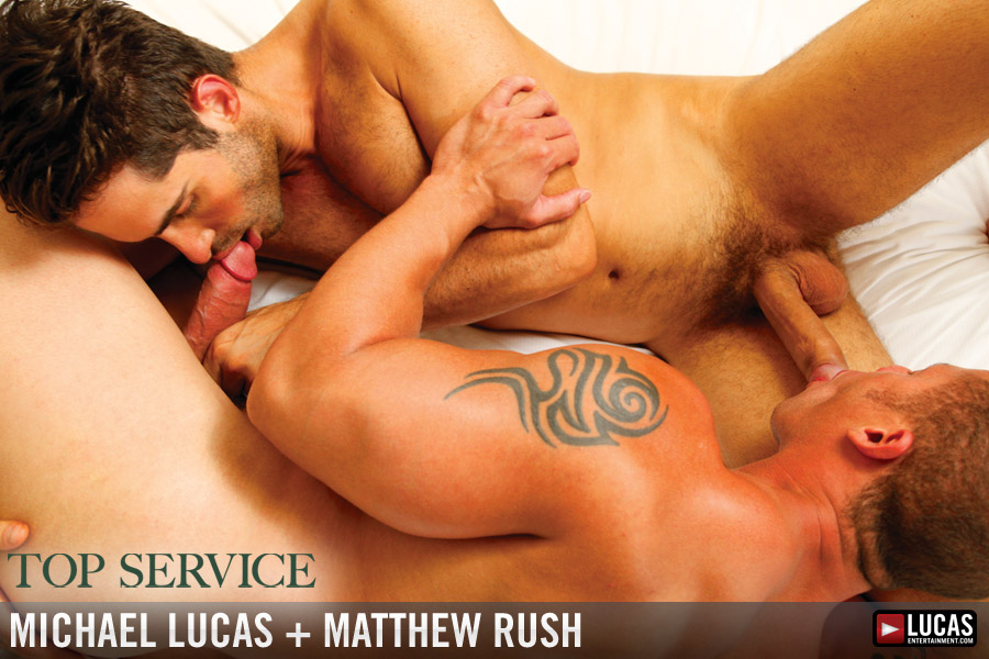 Michael Lucas and Matthew Rush