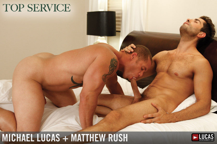Matthew Rush Gay Pornstar Kissing