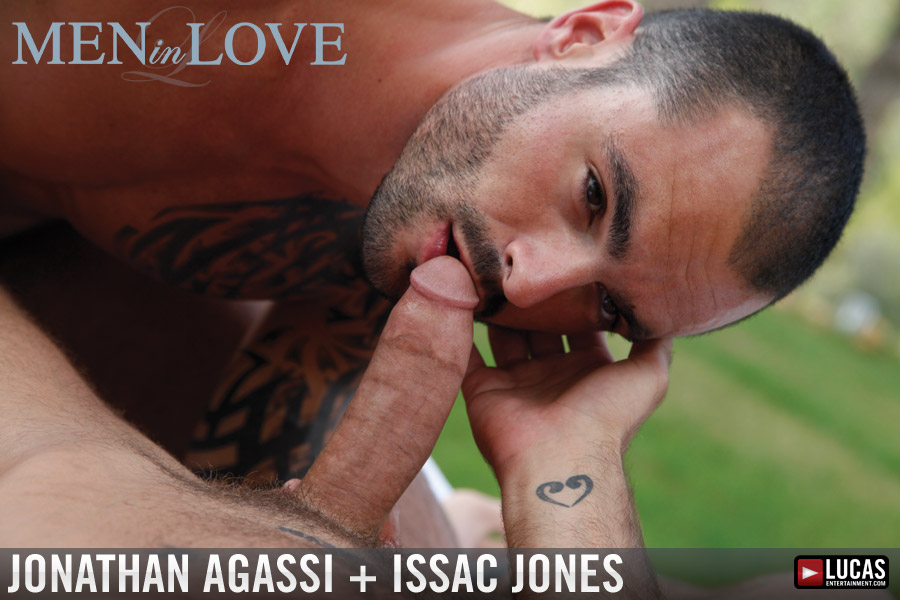 Jonathan Agassi and Issac Jones Make Passionate Love - Gay Movies - Lucas Entertainment