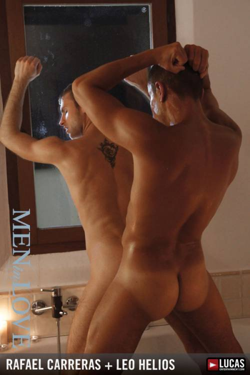 Latin Lover Rafael Carreras Bathes Leo Helios by Candlelight - Gay Movies - Lucas Entertainment
