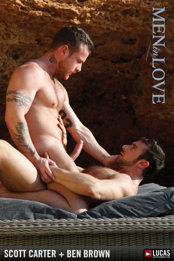 Passionate Ben Brown and Scott Carter Have Sex by the Waves - Gay Movies - Lucas Entertainment