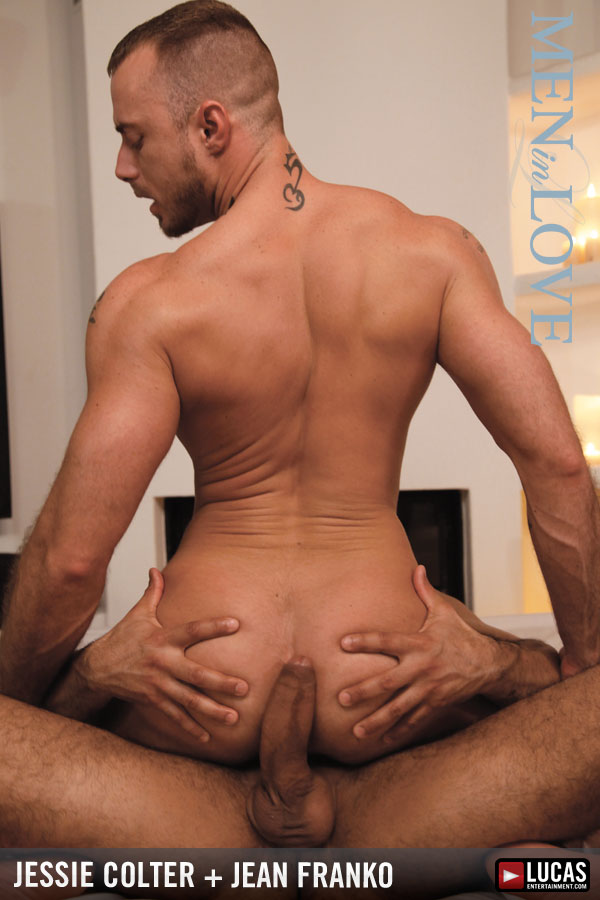 Sensual Jessie Colter Gives His Body to the Powerful Jean Franko - Gay Movies - Lucas Entertainment