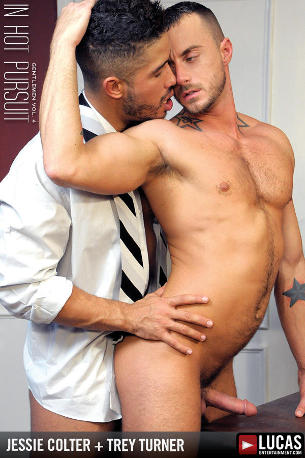 Hot Businessmen Jessie Colter and Trey Turner Fuck and Swallow Cum - Gay Movies - Lucas Entertainment