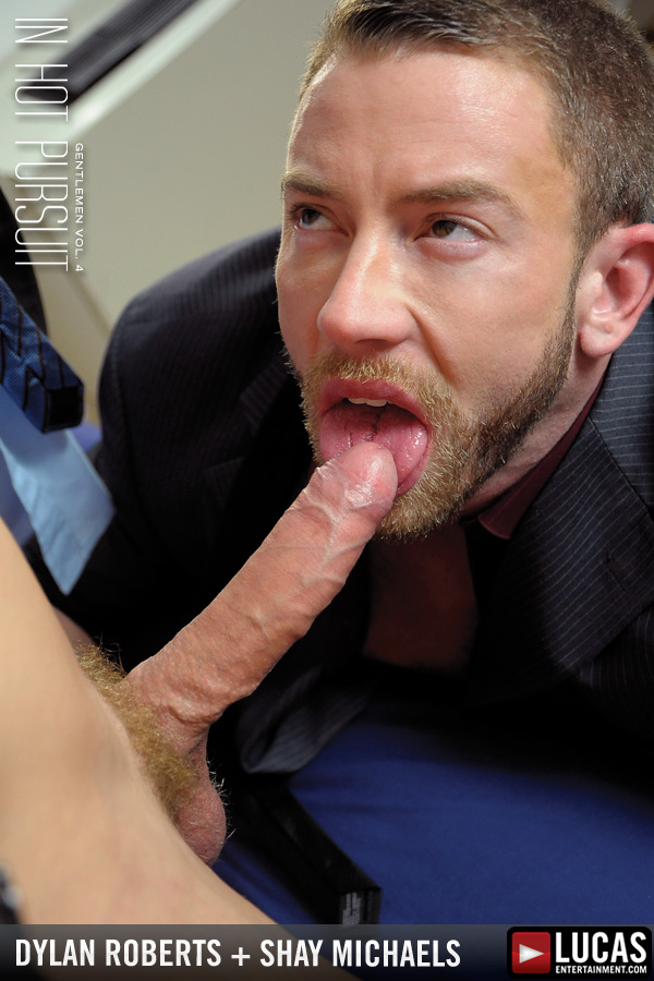 Wall Street Men Dylan Roberts and Shay Michaels Pound Ass - Gay Movies - Lucas Entertainment