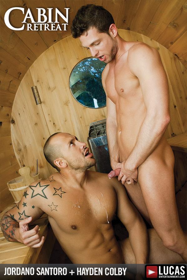 Hayden Colby and Jordano Santoro Flip-Fuck - Gay Movies - Lucas Entertainment