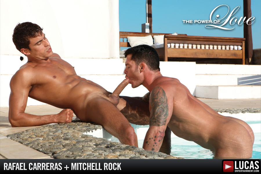 Rafael Carreras and Mitchell Rock Have Deep Sex - Gay Movies - Lucas Entertainment