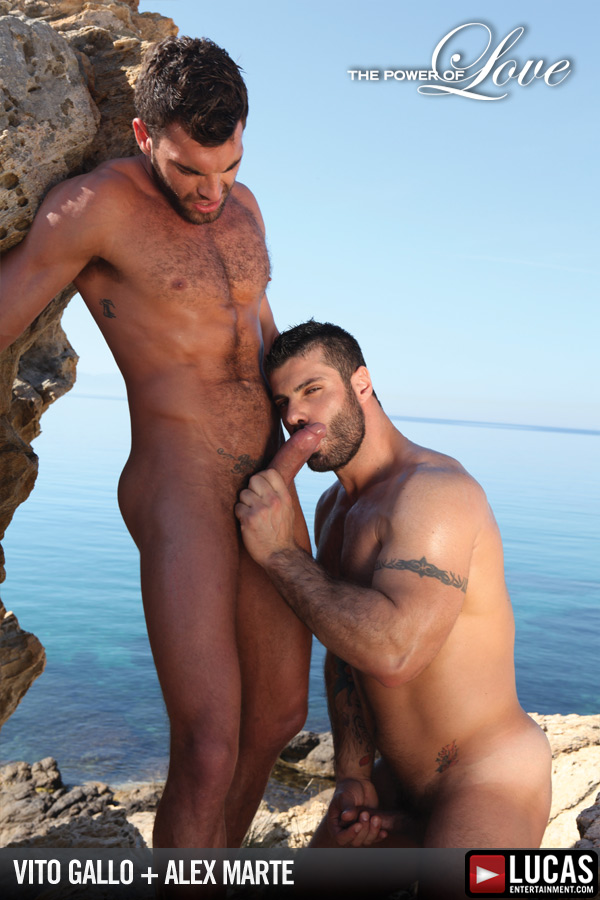 Vito Gallo and Alex Marte Romance One Another - Gay Movies - Lucas Entertainment
