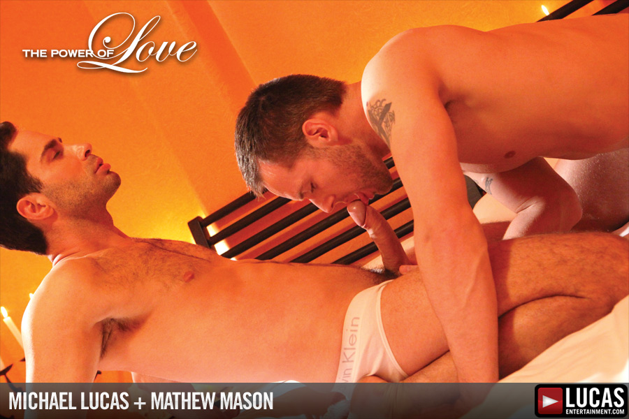 Michael Lucas and Mathew Mason Make Love - Gay Movies - Lucas Entertainment