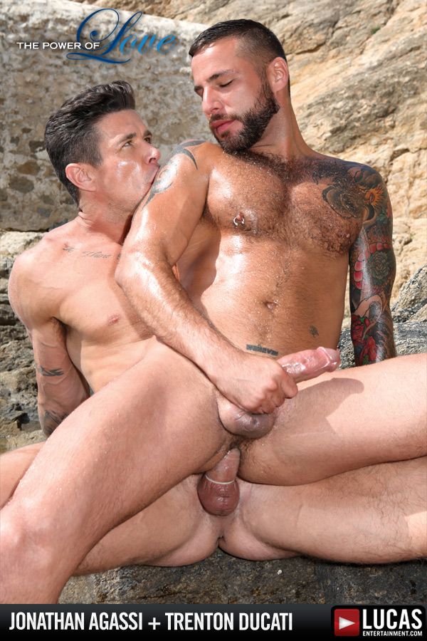 Lovers Jonathan Agassi and Trenton Ducati Fuck - Gay Movies - Lucas Entertainment