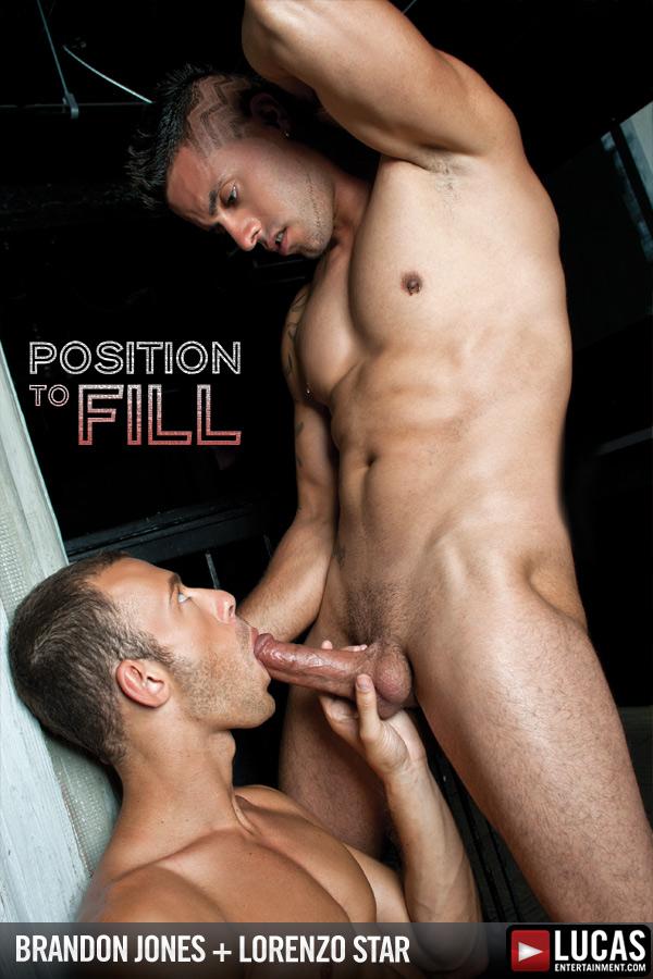 Brandon Jones and Lorenzo Star Flip-Fuck - Gay Movies - Lucas Entertainment