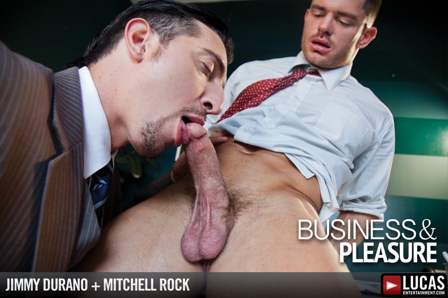 Jimmy Durano Interviews Hot Bottom Mitchell Rock - Gay Movies - Lucas Entertainment