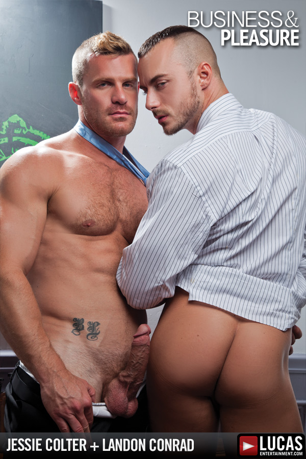 Landon Conrad Shows Jessie Colter Who is Boss - Gay Movies - Lucas Entertainment