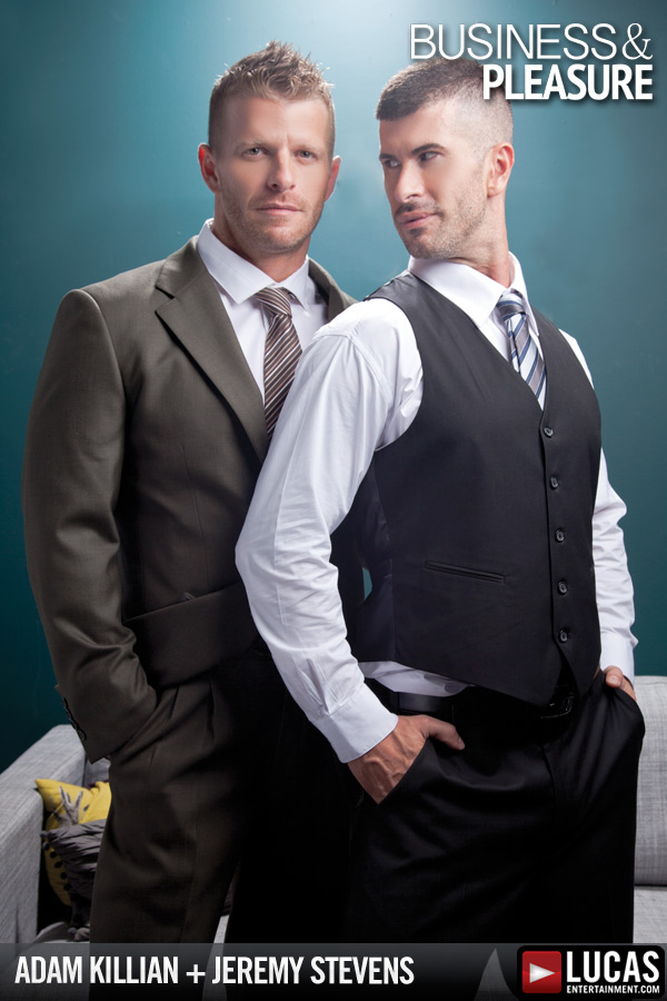 Adam Killian and Jeremy Stevens Do Business - Gay Movies - Lucas Entertainment