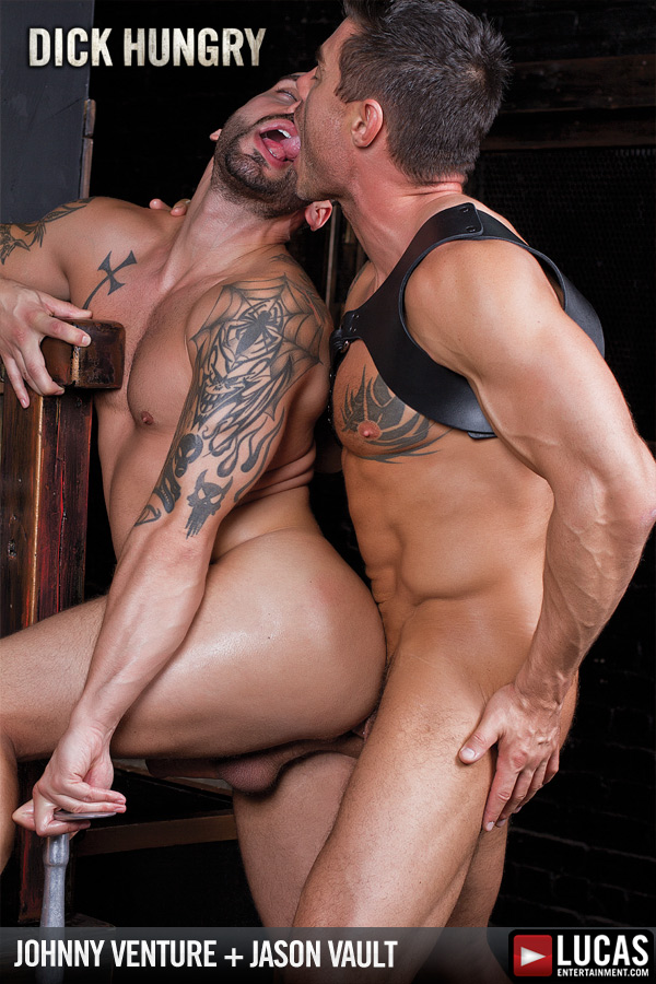 Jason Vault and Johnny Venture Fuck in a Dungeon - Gay Movies - Lucas Entertainment