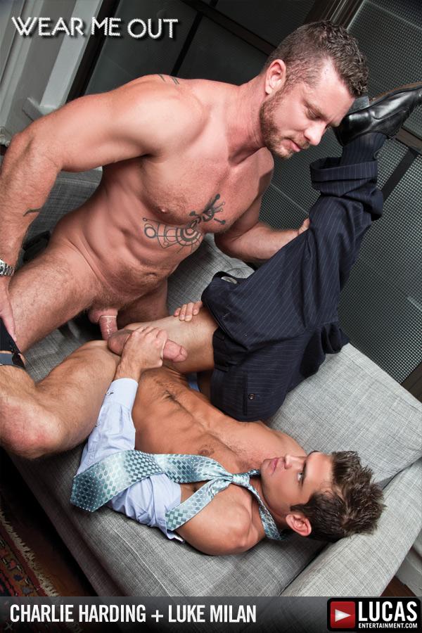 Charlie Harding Reprimands Intern Luke Milan - Gay Movies - Lucas Entertainment