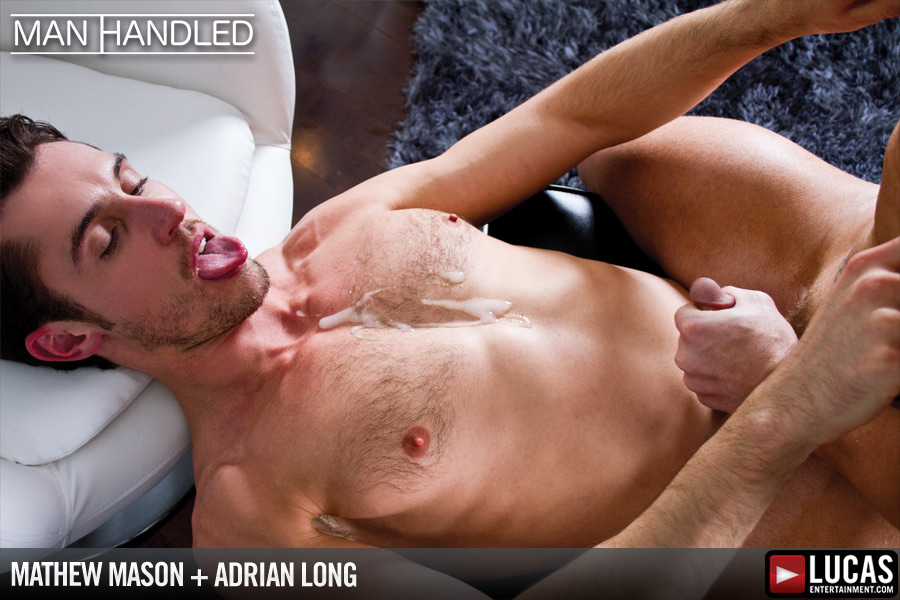 Exclusives Adrian Long and Mathew Mason Fuck - Gay Movies - Lucas Entertainment