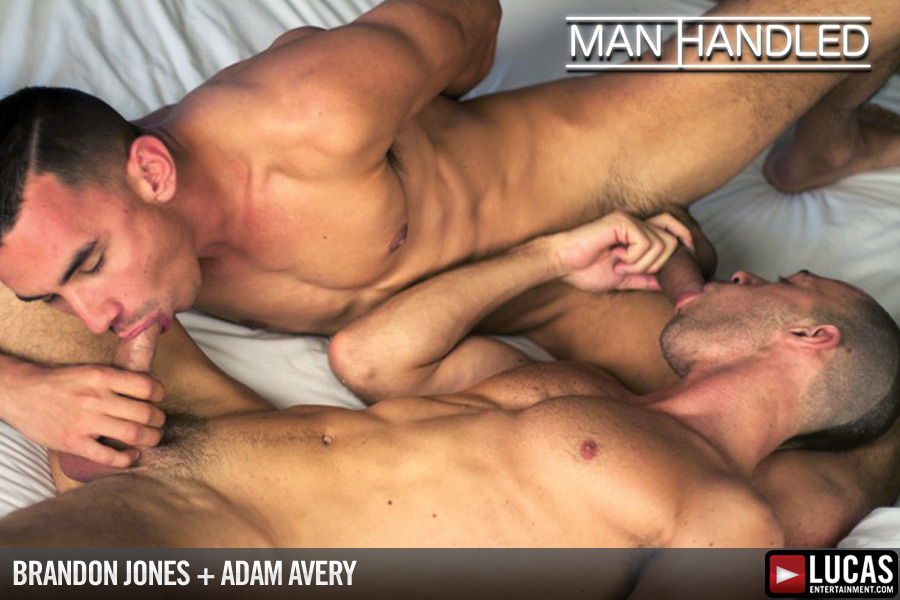 Adam Avery and Brandon Jones Flip-Fuck - Gay Movies - Lucas Entertainment
