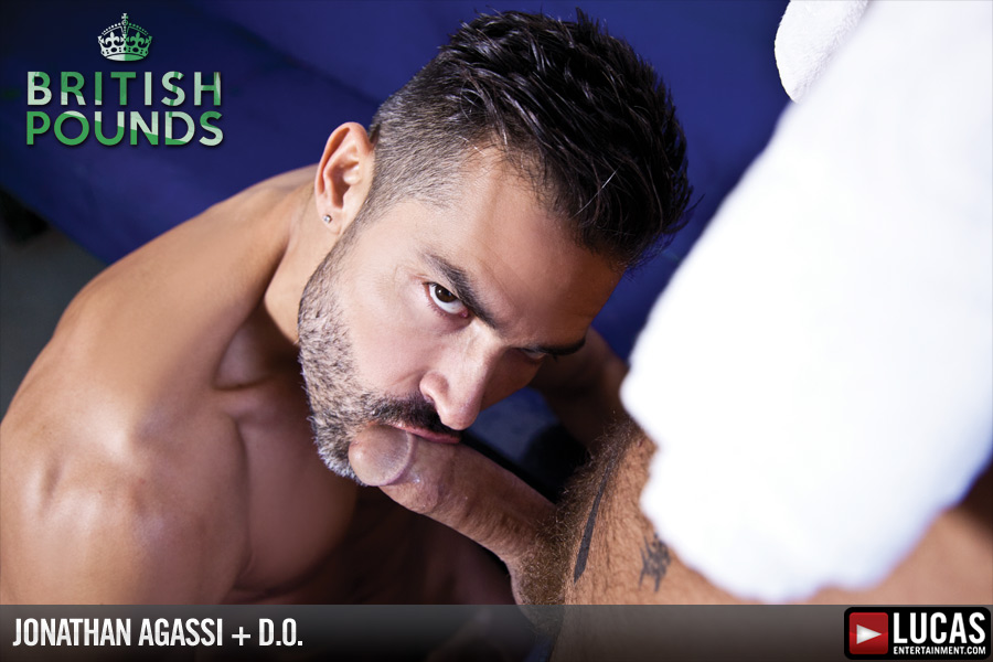 D.O. and Jonathan Agassi Work Up a Sweat - Gay Movies - Lucas Entertainment