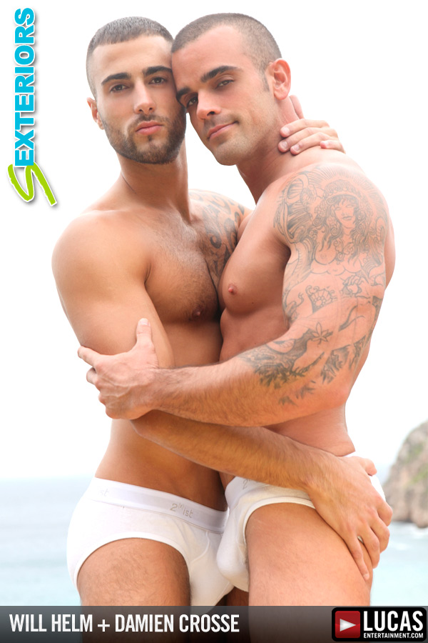 Will Helm Fucks Damien Crosse Overlooking the Ocean - Gay Movies - Lucas Entertainment