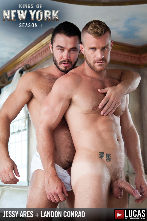 Jessy Ares Pounds Landon Conrad