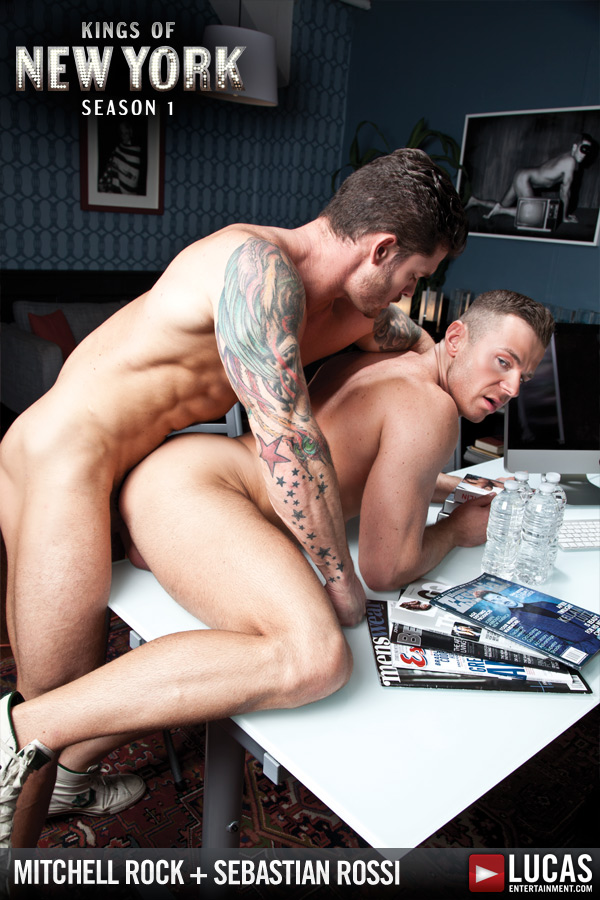 Mitchell Rock and Sebastian Rossi Flip-Fuck - Gay Movies - Lucas Entertainment
