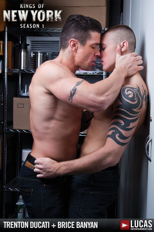 Trenton Ducati Breaks in Brice Banyan - Gay Movies - Lucas Entertainment