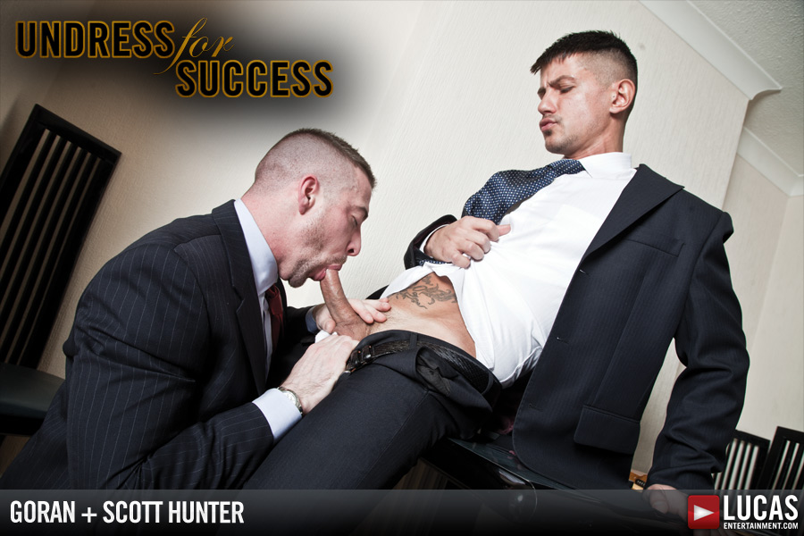 Scott Hunter and Goran Have a Nighttime Affair - Gay Movies - Lucas Entertainment