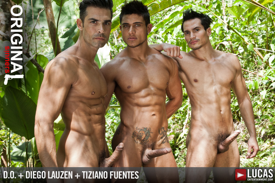 D.O., Tiziano, and Diego Flip-Fuck - Gay Movies - Lucas Entertainment